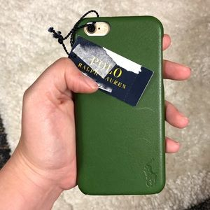 Polo IPhone 6 Green Leather Case